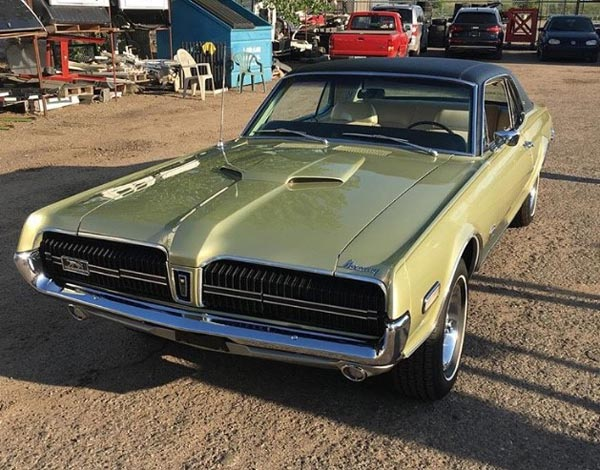 1969 Mercury Cougar 69 XR7 GTE